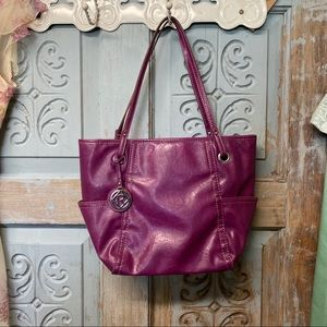 Purple relic handbag purse